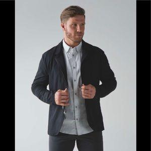 Lululemon Men's Nonstop black blazer. Size S